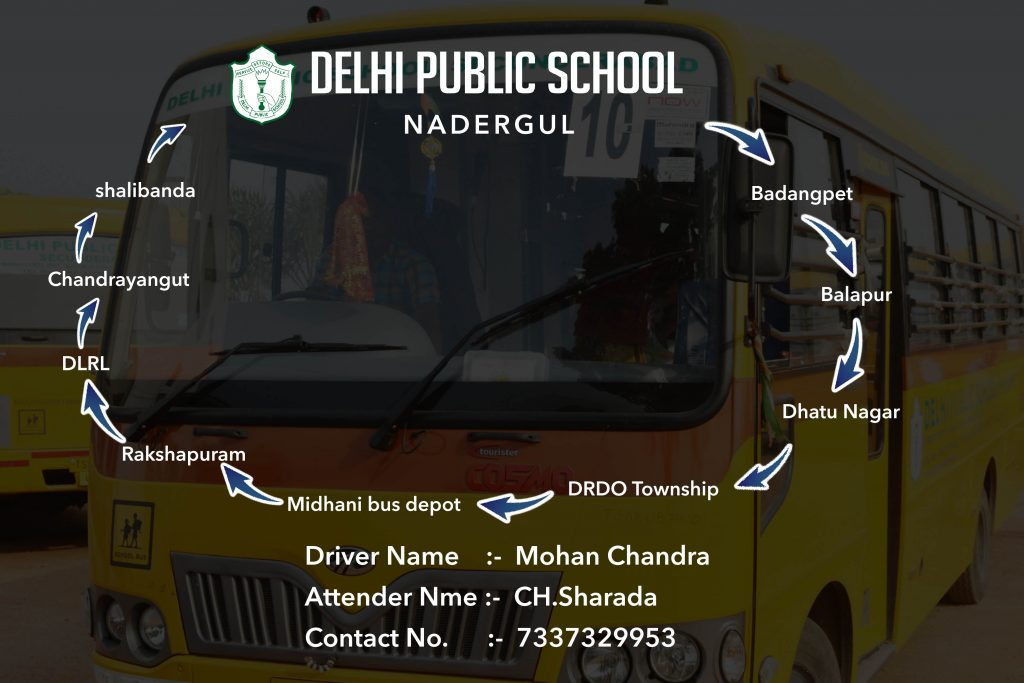 DPS Nadergul School Transport