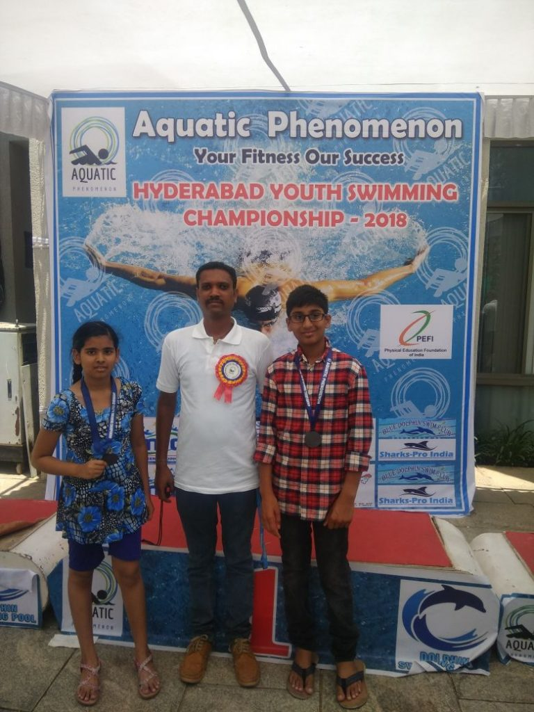 Hyderabad Youth Swimming Championship-2018